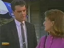Paul Robinson, Nina Williams in Neighbours Episode 0737