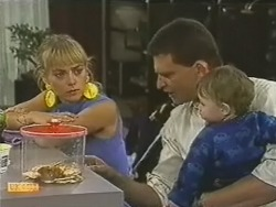 Jane Harris, Des Clarke, Jamie Clarke in Neighbours Episode 0737