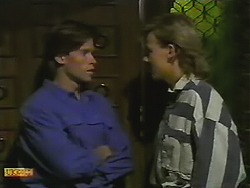 Mike Young, Scott Robinson in Neighbours Episode 0739