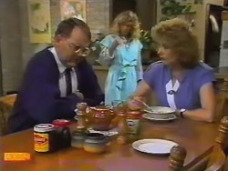 Harold Bishop, Charlene Mitchell, Madge Bishop in Neighbours Episode 0739