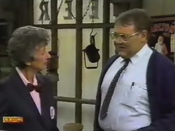 Nell Mangel, Harold Bishop in Neighbours Episode 0739