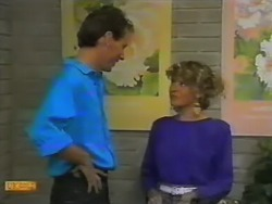Steve Fisher, Charlene Mitchell in Neighbours Episode 0739
