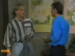 Scott Robinson, Steve Fisher in Neighbours Episode 0739