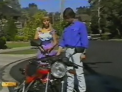 Jane Harris, Mike Young in Neighbours Episode 0739