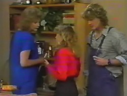 Madge Bishop, Charlene Robinson, Henry Ramsay in Neighbours Episode 0740