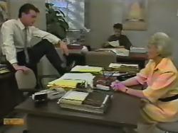 Paul Robinson, Gail Robinson, Helen Daniels in Neighbours Episode 0740