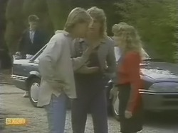 Scott Robinson, Henry Ramsay, Charlene Mitchell in Neighbours Episode 0741