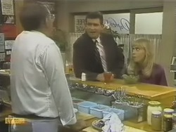 Harold Bishop, Des Clarke, Jane Harris in Neighbours Episode 0741