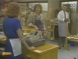 Madge Bishop, Henry Ramsay, Harold Bishop in Neighbours Episode 0741