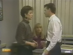 Gail Robinson, Jane Harris, Paul Robinson in Neighbours Episode 0741