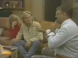 Charlene Mitchell, Scott Robinson, Harold Bishop in Neighbours Episode 0741