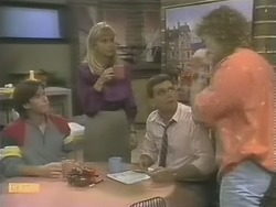 Mike Young, Jane Harris, Des Clarke, Henry Ramsay in Neighbours Episode 0741