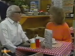 John Worthington, Madge Bishop in Neighbours Episode 0748