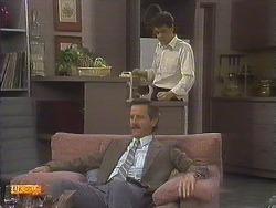 Ian Chadwick, Paul Robinson in Neighbours Episode 0758