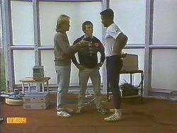 Scott Robinson, Coach, Pete Baxter in Neighbours Episode 0758