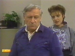 Rob Lewis, Gail Robinson in Neighbours Episode 0758