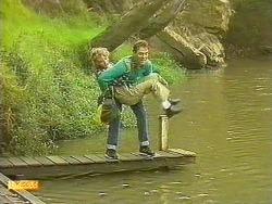 Charlene Robinson, Steve Fisher in Neighbours Episode 0758