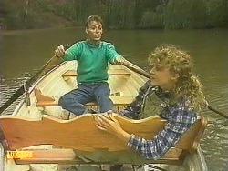 Steve Fisher, Charlene Robinson in Neighbours Episode 0758
