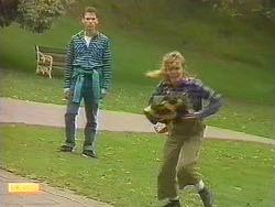 Steve Fisher, Charlene Mitchell in Neighbours Episode 0758