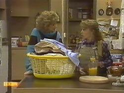 Madge Bishop, Charlene Mitchell in Neighbours Episode 0759