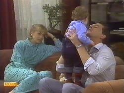 Jane Harris, Jamie Clarke, Des Clarke in Neighbours Episode 0759