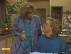 Madge Bishop, Scott Robinson in Neighbours Episode 0759