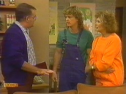 Harold Bishop, Henry Ramsay, Madge Bishop in Neighbours Episode 0761