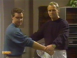 Paul Robinson, Jim Robinson in Neighbours Episode 0762