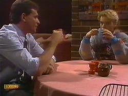 Des Clarke, Bronwyn Davies in Neighbours Episode 0765
