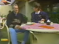 Jim Robinson, Beverly Marshall in Neighbours Episode 0798