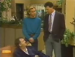 Harold Bishop, Scott Robinson, Des Clarke in Neighbours Episode 0799