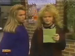 Bronwyn Davies, Sharon Davies in Neighbours Episode 0799
