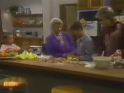 Katie Landers, Helen Daniels, Todd Landers, Nick Page in Neighbours Episode 0800