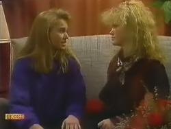 Bronwyn Davies, Sharon Davies in Neighbours Episode 0800