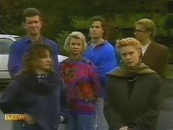 Des Clarke, Helen Daniels, Mike Young, Penelope Porter in Neighbours Episode 0800