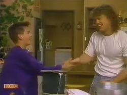 Todd Landers, Henry Ramsay in Neighbours Episode 0800