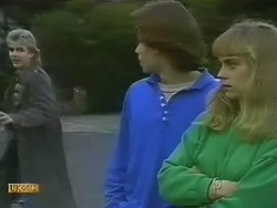 Nick Page, Mike Young, Jane Harris in Neighbours Episode 0801