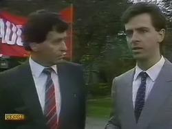 Mr. Varney, Solicitor in Neighbours Episode 0801