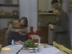 Jim Robinson, Beverly Marshall, Nick Page in Neighbours Episode 0801