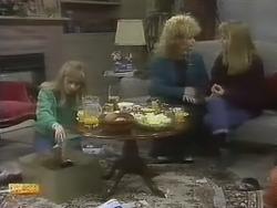 Jane Harris, Sharon Davies, Bronwyn Davies in Neighbours Episode 0801
