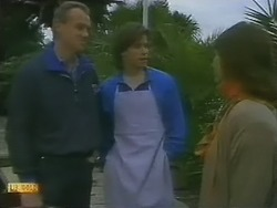 Jim Robinson, Mike Young, Beverly Marshall in Neighbours Episode 0801