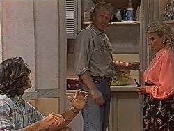 Wayne Duncan, Jim Robinson, Helen Daniels in Neighbours Episode 1867