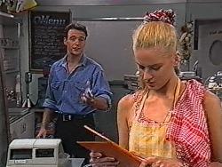 Stephen Gottlieb, Phoebe Bright in Neighbours Episode 1867