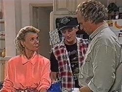 Helen Daniels, Greg Bartlett, Jim Robinson in Neighbours Episode 1867