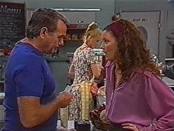 Doug Willis, Phoebe Bright, Gaby Willis in Neighbours Episode 1868