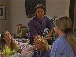 Beth Brennan, Cameron Hudson, Brad Willis, Lauren Turner in Neighbours Episode 1868