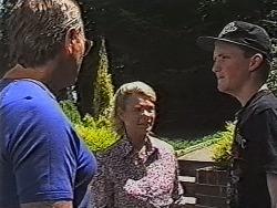 Doug Willis, Helen Daniels, Greg Bartlett in Neighbours Episode 1868