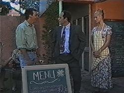 Stephen Gottlieb, Philip Martin, Phoebe Bright in Neighbours Episode 1868