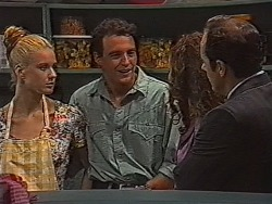 Phoebe Bright, Stephen Gottlieb, Gaby Willis, Philip Martin in Neighbours Episode 1868