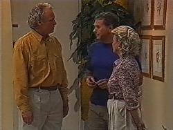 Jim Robinson, Doug Willis, Helen Daniels in Neighbours Episode 1868